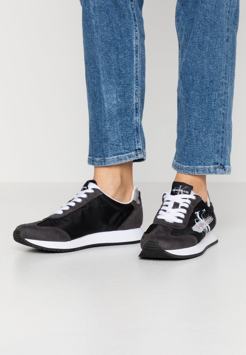 Calvin Klein Jeans - JEENEY - Baskets basses - black