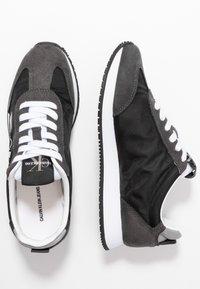 Calvin Klein Jeans - JEENEY - Baskets basses - black - 3