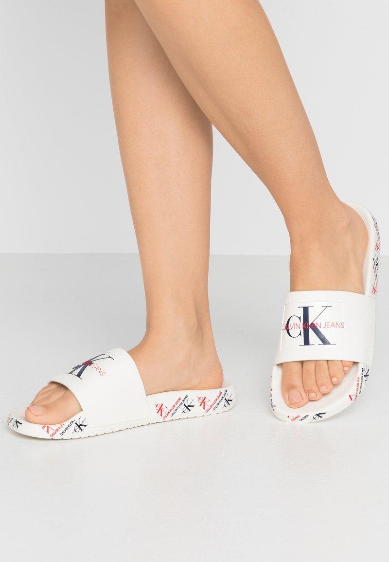 Calvin Klein Jeans - CATILYN - Pool slides - white