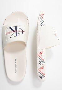 Calvin Klein Jeans - CATILYN - Pool slides - white - 3