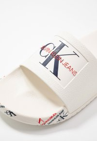 Calvin Klein Jeans - CATILYN - Pool slides - white - 2