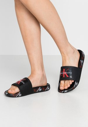 CATILYN - Pool slides - black