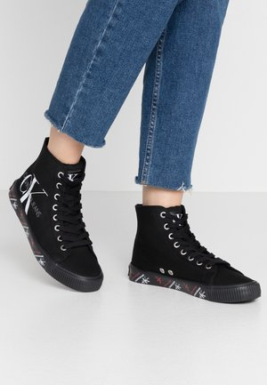 DANZA - High-top trainers - black