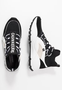 Calvin Klein Jeans - TIMOTEA - Vysoké tenisky - black/stone - 3