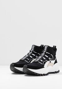 Calvin Klein Jeans - TIMOTEA - Vysoké tenisky - black/stone - 4