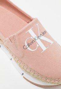 Calvin Klein Jeans - GENNA - Espadrillot - dusk - 2