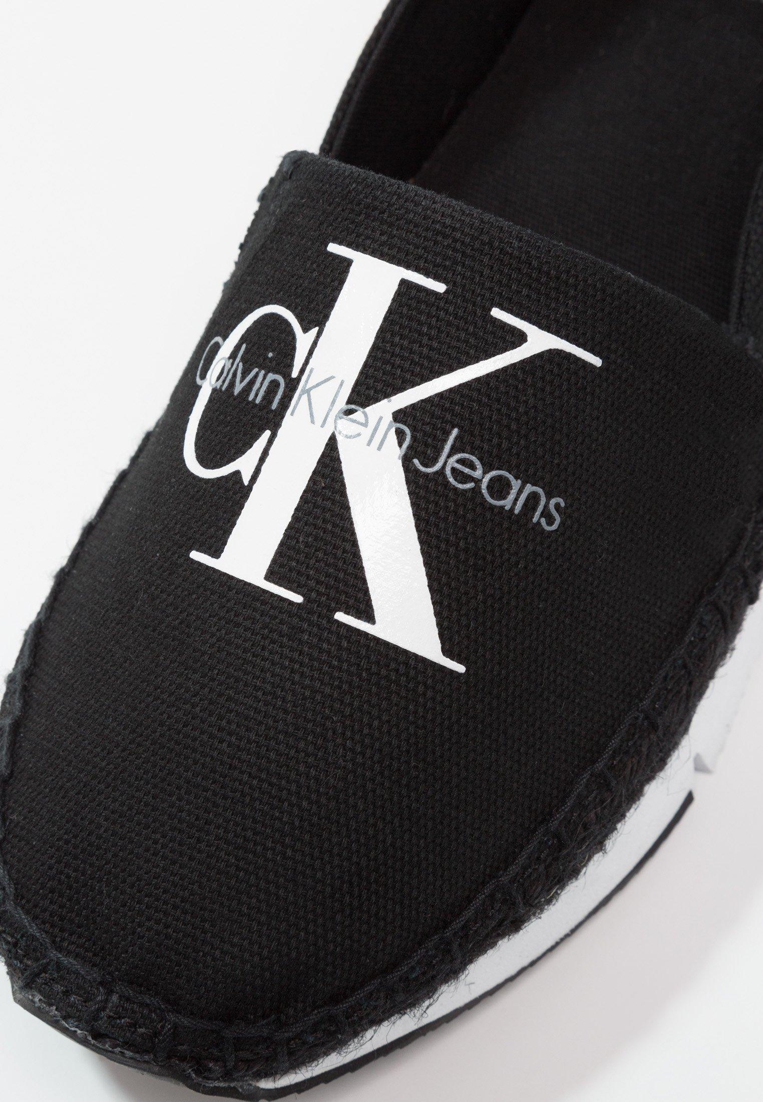 Calvin Klein Jeans GENNA - Espadryle - black