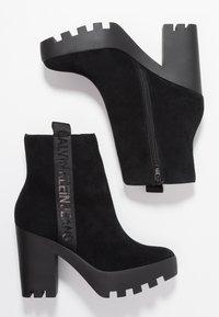 Calvin Klein Jeans - SERINA - Enkellaarsjes met hoge hak - black - 3