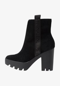 Calvin Klein Jeans - SERINA - Enkellaarsjes met hoge hak - black - 1