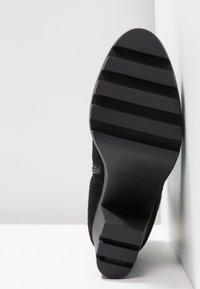 Calvin Klein Jeans - SERINA - Enkellaarsjes met hoge hak - black - 6