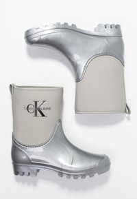 Calvin Klein Jeans - PHILIPPA - Regenlaarzen - siilver - 3