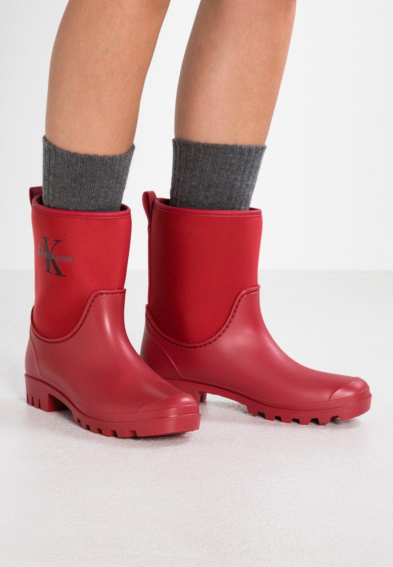Calvin Klein Jeans - PHILIPPA - Regenlaarzen - red