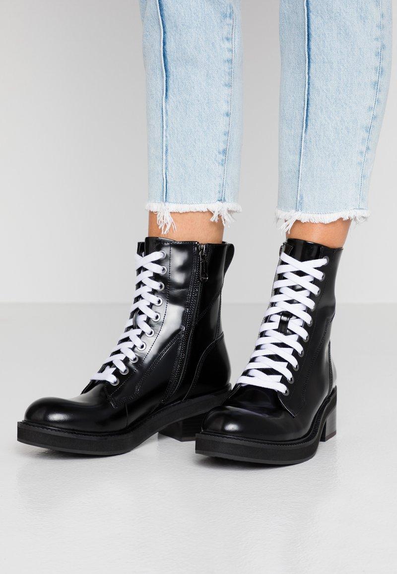 Calvin Klein Jeans - EBBA - Platform ankle boots - black
