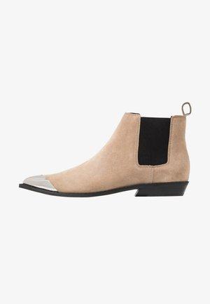 ARTHENA - Ankle boots - travertine