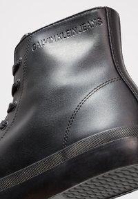 Calvin Klein Jeans - ICARO - Zapatillas altas - black - 5
