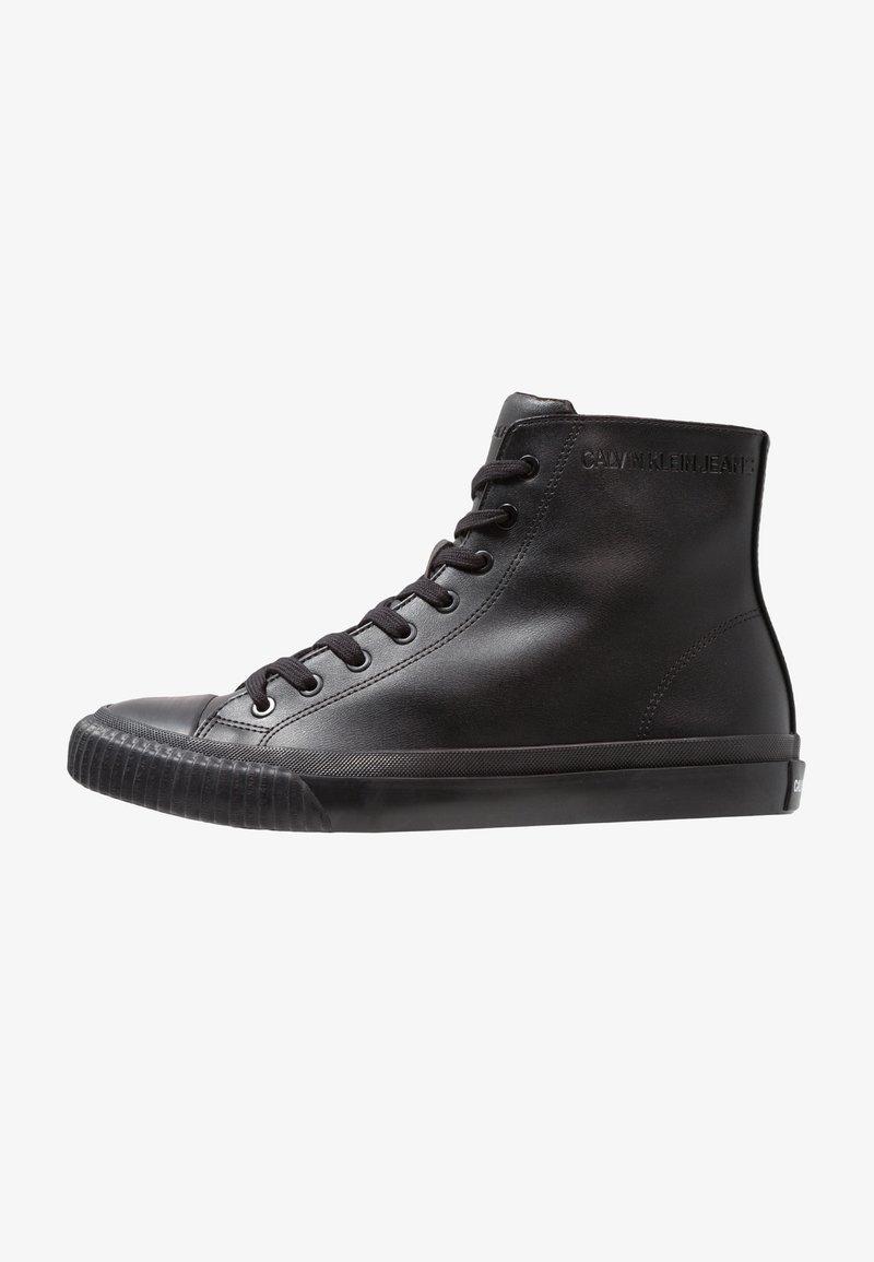 Calvin Klein Jeans - ICARO - Zapatillas altas - black