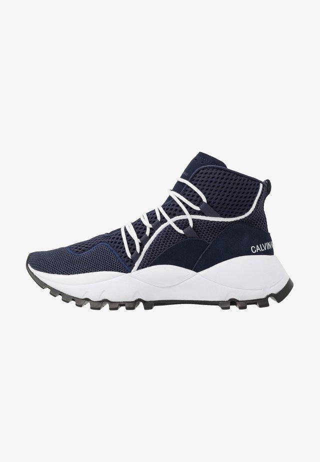 THADDEUS - Sneakers hoog - navy
