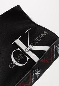 Calvin Klein Jeans - ASTON - Korkeavartiset tennarit - black - 5