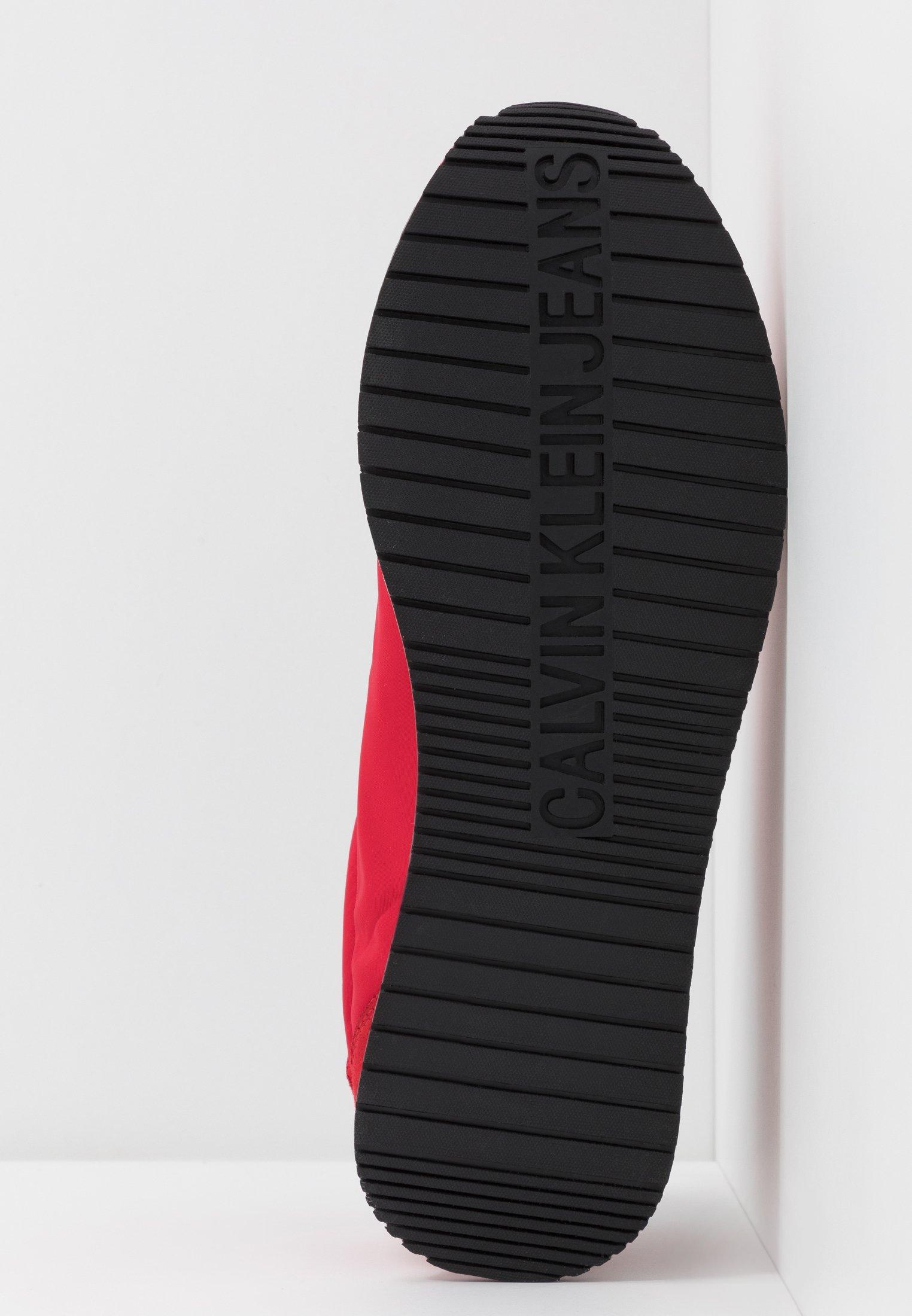 Calvin JEMMYBaskets red Jeans basses racing Klein R3jL54A