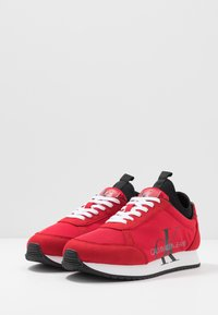 Calvin Klein Jeans - JEMMY - Baskets basses - racing red - 2