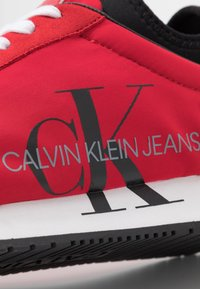 Calvin Klein Jeans - JEMMY - Baskets basses - racing red - 5