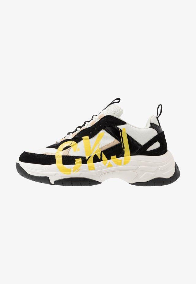 MIZAR - Sneaker low - bright white/black