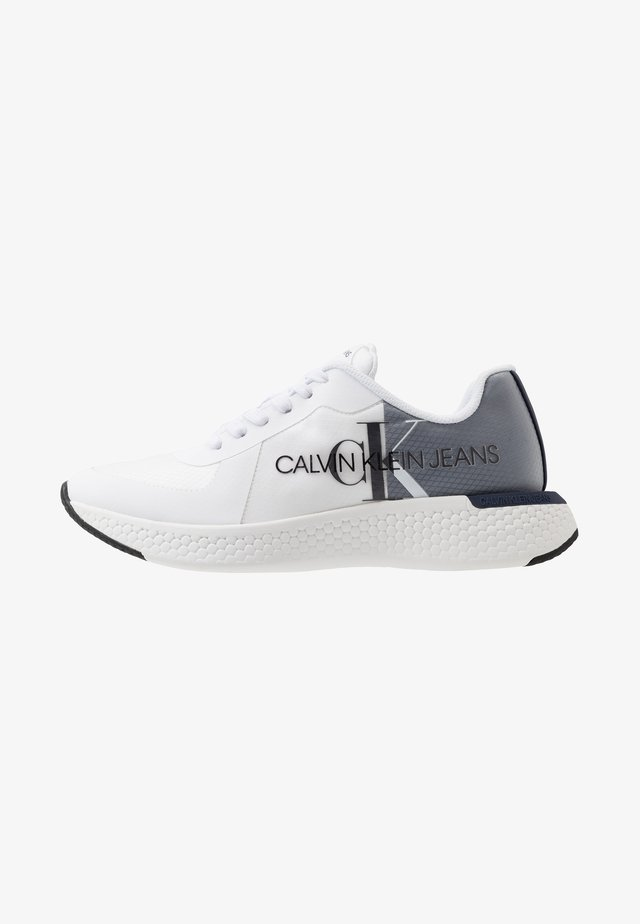 ADAMIR - Matalavartiset tennarit - white/navy