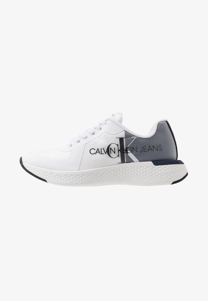Calvin Klein Jeans - ADAMIR - Sneakers - white/navy