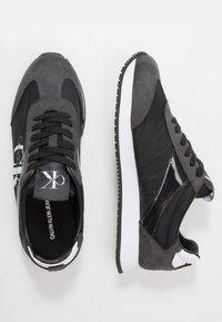 Calvin Klein Jeans - JESTER - Sneakers - black/gray - 1