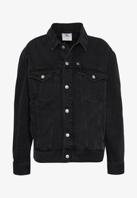 Calvin Klein Jeans - CK ONE OVERSIZED FOUNDATION DENIM JKT - Spijkerjas - black stone - 5