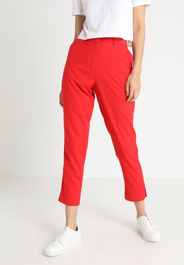 SIDE STRIPE PANT - Broek - racing red