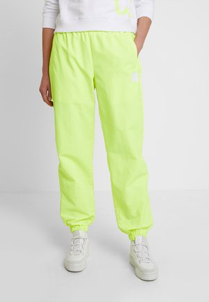 TRACK PANT - Träningsbyxor - safety yellow