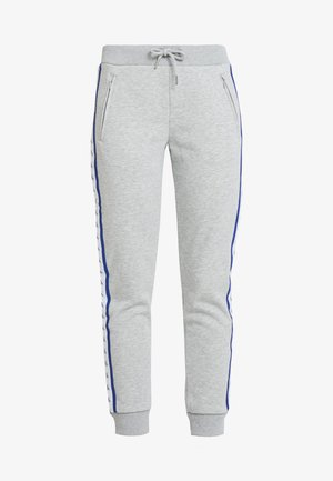 MONOGRAM TAPE PANTS - Tracksuit bottoms - light grey heather