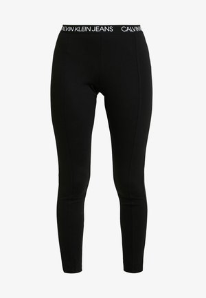 LOGO MILANO - Legging - black