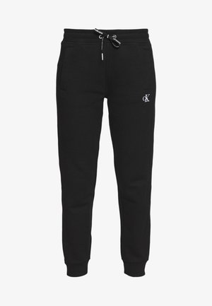 EMBROIDERY JOGGING PANTS - Joggebukse - black