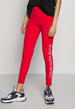 INSTITUTIONAL LOGO - Leggings - Hosen - fiery red