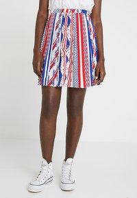 Calvin Klein Jeans - FLAG SKIRT - A-lijn rok - multi-coloured - 0