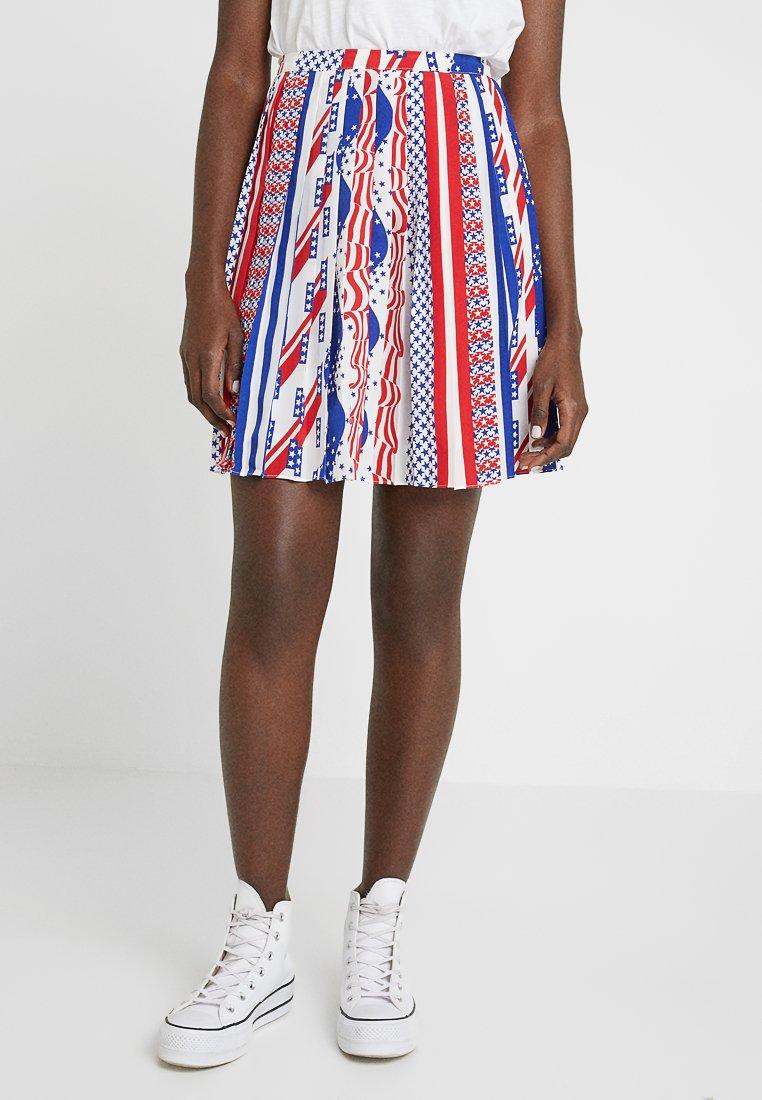 Calvin Klein Jeans - FLAG SKIRT - A-lijn rok - multi-coloured
