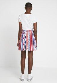 Calvin Klein Jeans - FLAG SKIRT - A-lijn rok - multi-coloured - 2