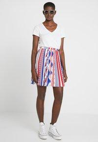 Calvin Klein Jeans - FLAG SKIRT - A-lijn rok - multi-coloured - 1