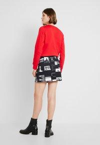 Calvin Klein Jeans - PUNK SKIRT - Jeanskjol - black - 2