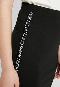 Calvin Klein Jeans - MILANO LOGO SKIRT - Jupe crayon - black - 3