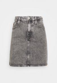 Calvin Klein Jeans - HIGH RISE MINI SKIRT - Gonna a campana - grey - 3