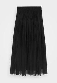 Calvin Klein Jeans - DOUBLE LAYER SKIRT - Jupe trapèze - black - 3