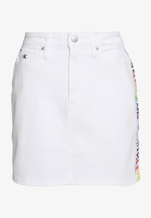 SKIRT - Gonna di jeans - denim white