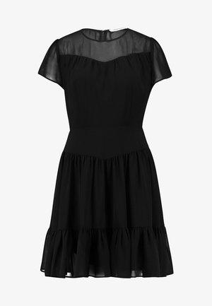 DOUBLE LAYER DRESS - Robe d'été - black