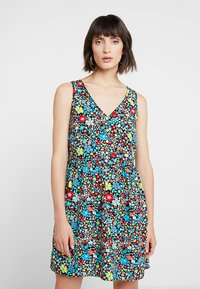 Calvin Klein Jeans - SLEEVELESS FLORAL DRESS - Robe d'été - multi-coloured - 0