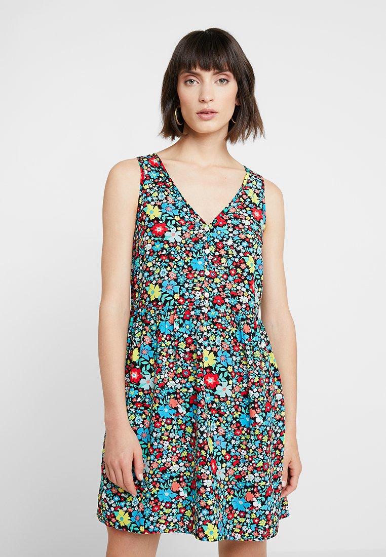 Calvin Klein Jeans - SLEEVELESS FLORAL DRESS - Robe d'été - multi-coloured