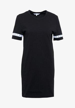 MONOGRAM TAPE DRESS - Day dress - black