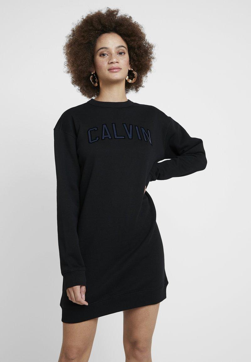 Calvin Klein Jeans - DRESS - Freizeitkleid - black